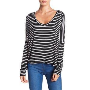 🔸NWOT Project Social T Long Sleeve Stripe T-Shirt